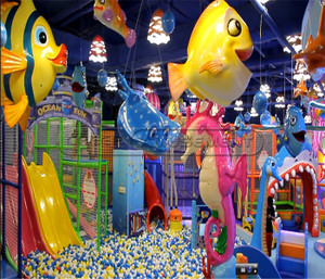 Undersea World Indoor Playground System | Cheer Amusement CH-TD20150112-2