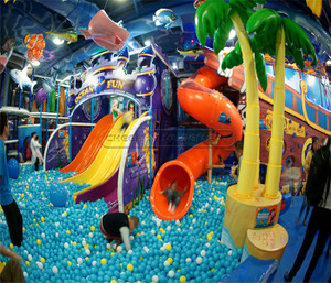 Enchanted Forest Indoor Playground System | Cheer Amusement CH-TD20150112-17