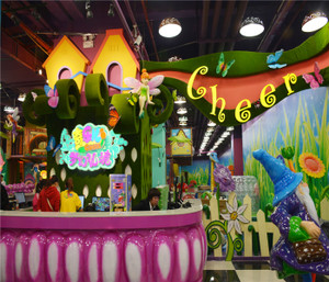 Enchanted Forest Indoor Playground System | Cheer Amusement CH-TD20150112-19