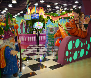 Enchanted Forest Indoor Playground System | Cheer Amusement CH-TD20150112-23