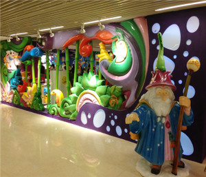 Enchanted Forest Indoor Playground System | Cheer Amusement CH-TD20150112-24