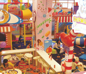 Candy Land Indoor Playground System | Cheer Amusement CH-TD20150112-27