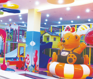 Candy Land Indoor Playground System | Cheer Amusement CH-TD20150112-30