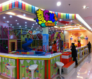 Candy Land Indoor Playground System | Cheer Amusement CH-TD20150112-32