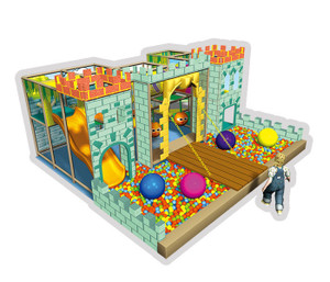Castle Themed Toddler Play Indoor Playground System | Cheer Amusement CH-RS110076
