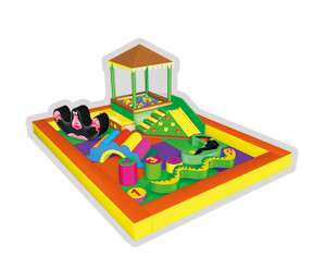 Jungle Themed Baby Play Indoor Playground System | Cheer Amusement CH-RS110085