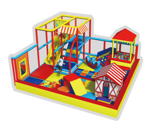 Mini Town Indoor Playground System | Cheer Amusement CH-RS130017