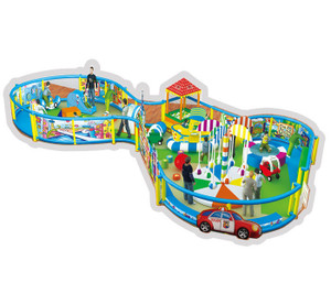 Funtime Toddler Play Indoor Playground System | Cheer Amusement CH-RS130019