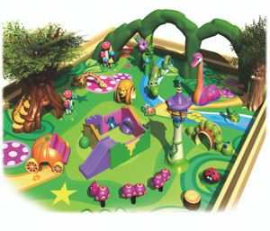Soft Sculpted Foam Play-6 Indoor Playground System | Cheer Amusement CH-SFP150006