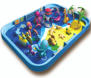 Soft Sculpted Foam Play-7 Indoor Playground System | Cheer Amusement CH-SFP150007