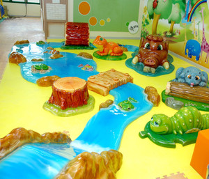Soft Sculpted Foam Play-9 Indoor Playground System | Cheer Amusement CH-SFP150031
