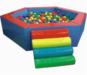 Hexagonal Ball Pit Indoor Playground System | Cheer Amusement CH-SQC110004