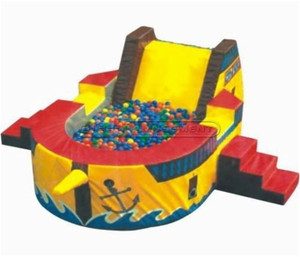 Warship Ball Pit Indoor Playground System | Cheer Amusement CH-SQC110012