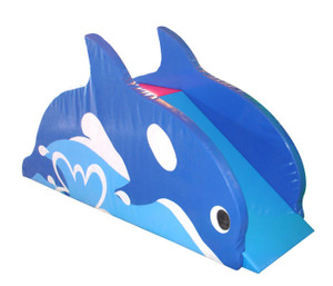 Whale Slide Indoor Playground System | Cheer Amusement CH-SS150001