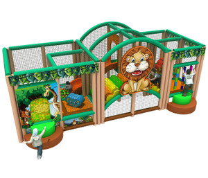 Jungle Themed Mobile Play System | Cheer Amusement CH-RS150004