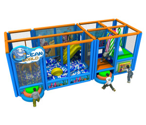 Ocean Themed Mobile Play System | Cheer Amusement CH-RS150005