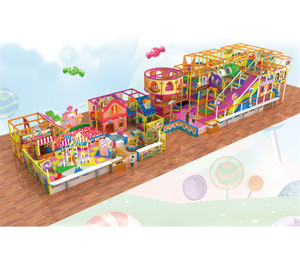 Candy World Themed Indoor Playground System | Cheer Amusement CH-RS150007