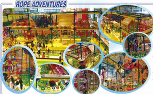 Indoor Playground Adventure Park  Rope Adventure