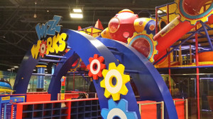 Large Attraction Featuered Arch Entrance Indoor Play  FEC YAS Mall UAE