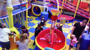 Ball Blaster in Yas Mall UAE   Large Attractions