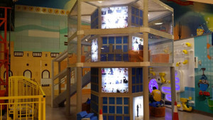 Building Tower in Yas Mall UAE   Large Attractions