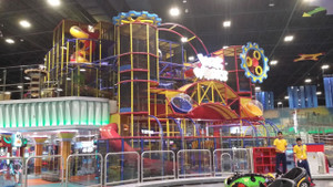 Fun Works Playground in Yas Mall UAE | Large Attractions