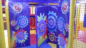Rotational Door in Yas Mall UAE | Large Attractions