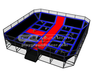 Trampoline Park Equipment Model# Big trampoline park10  CH-ST150020