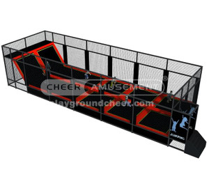 Trampoline Park Equipment Model# Big trampoline park 12 CH-ST150015
