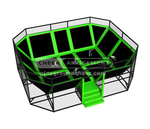Trampoline Park Equipment Model# Big trampoline park-17 CH-ST150022
