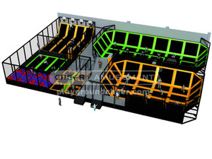Trampoline Park Equipment Indoor Playground