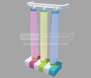 Indoor Playground Equipment  Motion Soft Play  Bubble Tubes  CH-ES150117