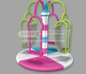 Soft Play  Indoor Motion Soft Play Flyng Rings  CH-ES140110