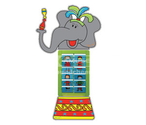 Pretty Elephant Interactive Play/Play Panels Indoor Playground Equipment CH-SH150405