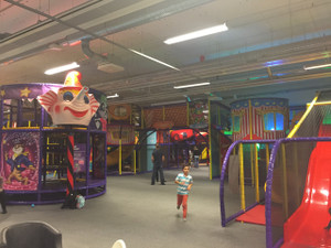Indoor Play Large Attraction Main Play Area  Stockholm Swden by Cheer Amusement