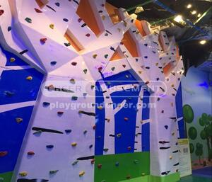 Wall Climbing Indoor Play Equipment Tree Themed Rock Climbing Wall  |  Indoor Play Equipment  Cheer Amusement