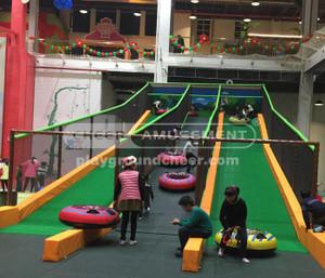 Challenge Courses Equipment Donut Slide Indoor Play Equipment