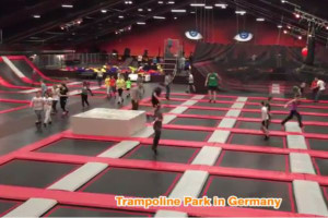 Trampoline Park in Germany  |  Cheer Amusement 2015