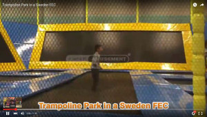 A Trampoline Park in a FEC  Sweden  | Equipment Supplier Cheer Amusement