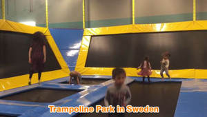 A Trampoline Park in   Sweden | Euipment Manufactuer ,Cheer Amusement