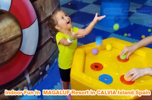 Soft Play , Indoor Fun in MAGALUF Resort in CALVIA Island Spain