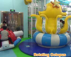 Motion Soft Play Rotating Octopus indoor play fun Cheer Amusement Profile