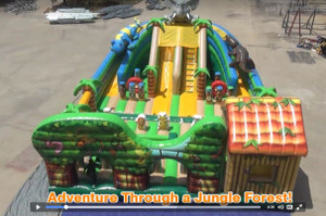 Forest Adventure Inflatables a Timeless and Extremely Attractive Play yard