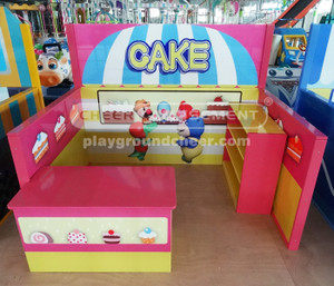 Cake Bakery Play Theme Indoor Playground Equipment