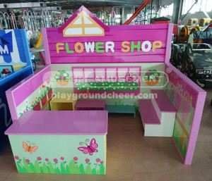 Flower Shop Theme Indoor Playground Equipment