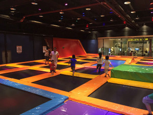 Trampoline Park Just Installed | Cheer Amusement | Trampoline Park Manufacturer