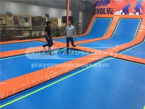 TRAMPOLINE PARK BUILT AND MANUFACTURE by CHEER AMUSEMENT | 2017 NEW