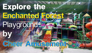 Enchanted Forest Indoor Playground | Cheer Amusement