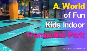 The world very first Trampoline Park  |  Cheer Amusement | Trampoline Park Equipment