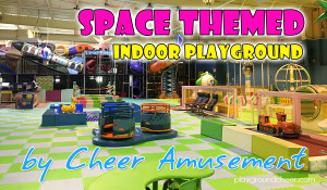 Space Themed Indoor Playground |FEC Large Attraction | Cheer Amusement